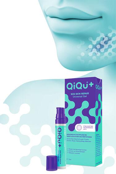 QiQu SOS Skin Repair Universal Gel mit Verpackung