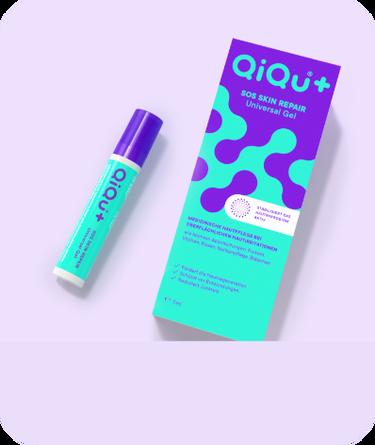 QiQu Skin Repair Dispenser mit Verpackung